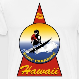Hawaii Surfing - T-shirt Premium Homme