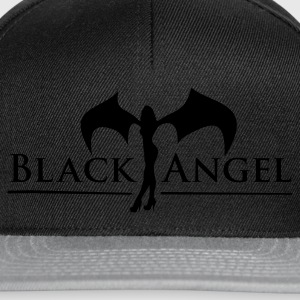 Black Angel - Snapback Cap