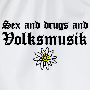 Sex & drugs & Volksmusik - Turnbeutel