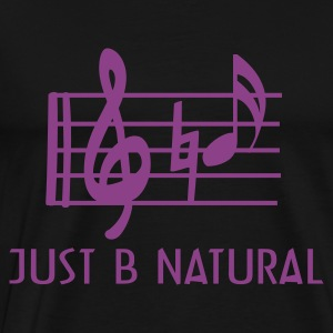 B natural men's sweatshirt - Men's Premium T-Shirt