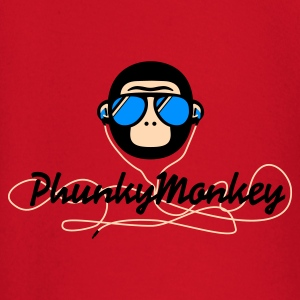 Rot phunky monkey Pullover - Baby Langarmshirt