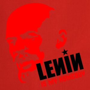 Rood Lenin is my homeboy T-shirts - Keukenschort