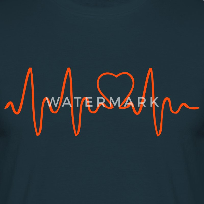 EN-Heartbeat - Men's T-Shirt