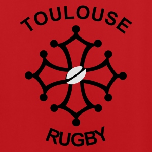 Rouge/blanc Toulouse Rugby Sacs - Maillot de football Homme