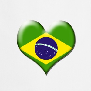 Brazil Heart Flag - Cooking Apron