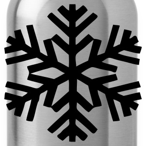 EN-Schneeflocken - Water Bottle