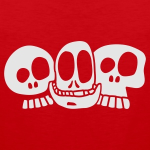 Red The Skulls Juniors - Tank top premium hombre