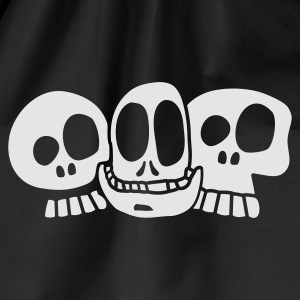 Navy The Skulls Juniors Hoodie - Sac de sport léger