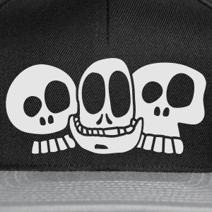 Navy The Skulls Juniors Hoodie - Casquette snapback