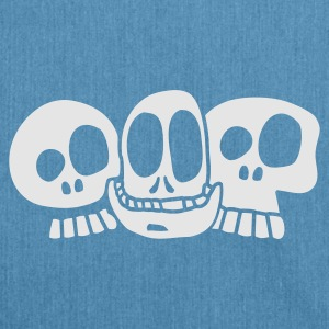 Sky Blue The Skulls Baby - Skuldertaske af recycling-material