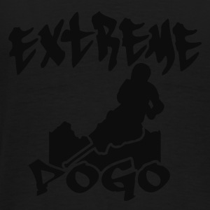 Black Extreme Pogo Skyline Coats & Jackets - Men's Premium T-Shirt