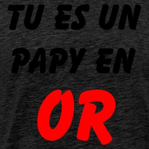 Vert papy or Sweatshirts - T-shirt Premium Homme
