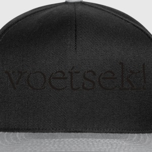 Black Voetsek! Jumpers - Snapback Cap