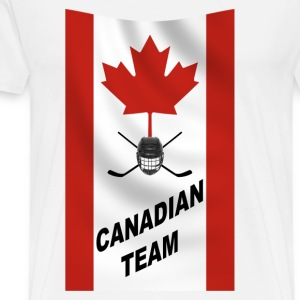 Canadian team - T-shirt Premium Homme