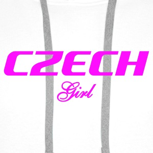 :: CZECH GIRL :: Bags & backpacks - Men's Premium Hoodie