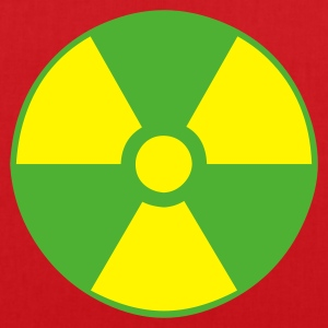 Red atom character - waste - nuclear Men's Tees - Tote Bag