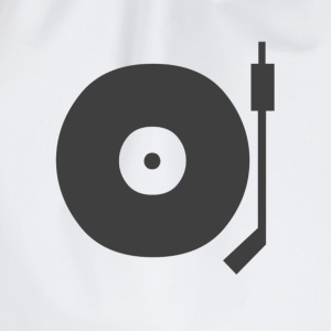 T-SHIRT DJ VINYL TURNTABLE  - Gymtas