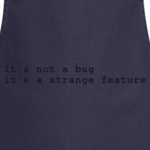Marine it's not a bug - it's a strange feature T-shirts - Tablier de cuisine