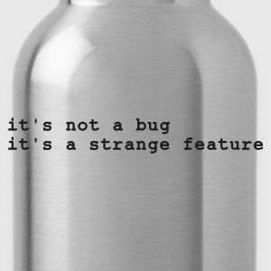 it's not a bug - it's a strange feature T-Shirts Navy - Trinkflasche