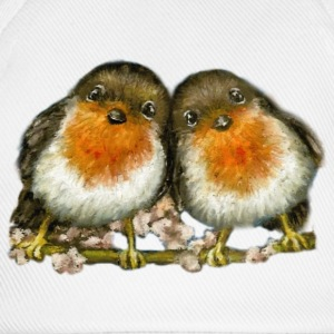 Two Robins - Baseball Cap