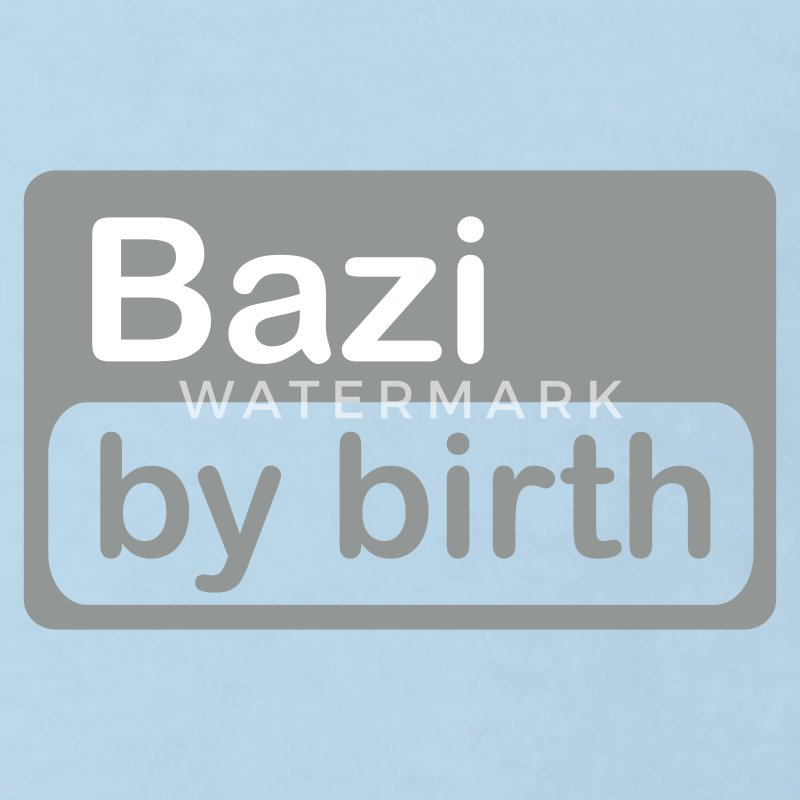 Hellblau Bazi by birth Kinder Shirts - Kinder Bio-T-Shirt