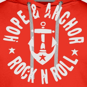 Hope & Anchor - Rock´n´Roll - Männer Premium Hoodie
