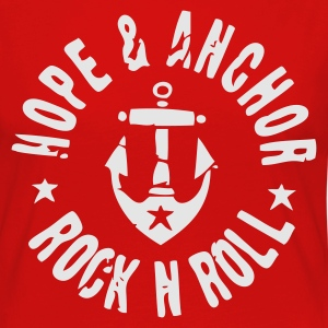 Hope & Anchor - Rock´n´Roll - Frauen Premium Langarmshirt