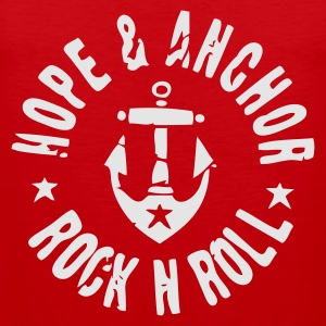 Hope & Anchor - Rock´n´Roll - Männer Premium Tank Top