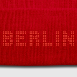 Red/white Berlin Bags  - Winter Hat