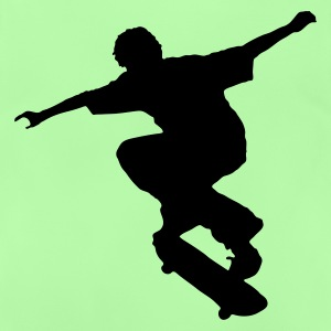 Green Skater - Skateboard - Skating Kid's Tops - Baby T-Shirt