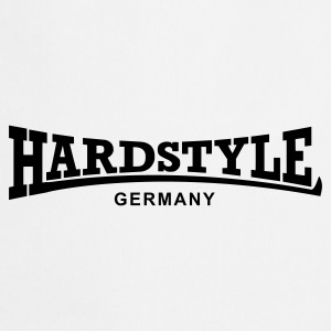 White Hardstyle Germany Underwear - Cooking Apron