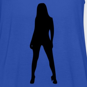 EN-SexySilhouette - Women's Tank Top by Bella