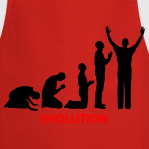 Rood Evolution T-shirts - Keukenschort