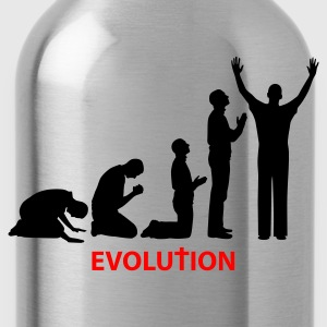 Rood Evolution T-shirts - Drinkfles