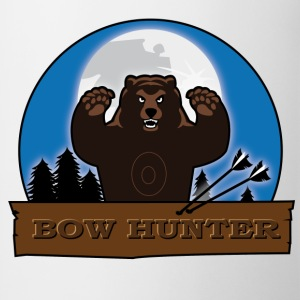 Bowhunter - Bear - front & back - Tasse