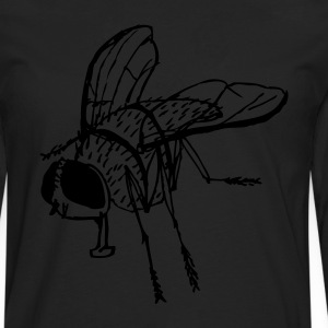 Black fly Men's Tees - Men's Premium Longsleeve Shirt