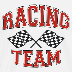 Blanc racing team Sweatshirts - T-shirt Premium Homme