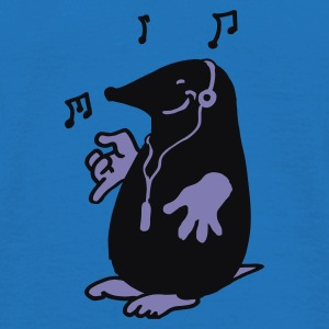 Rood mole with music Sweaters - Mannen T-shirt