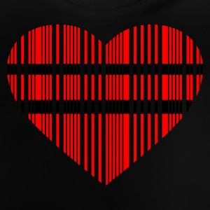 barcode love - Baby T-Shirt
