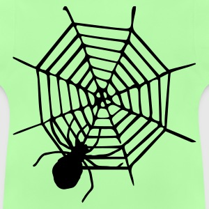 Green spider Kid's Tops - Baby T-Shirt