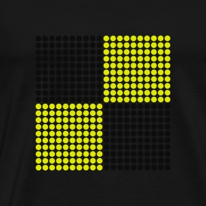 Navy pixel Kid's Tops - Men's Premium T-Shirt