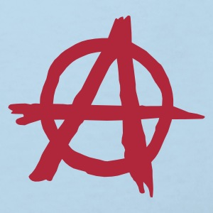 Sky blue Anarchy Accessories - Kids' Organic T-shirt