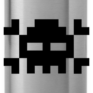 Pixel skull - Water Bottle