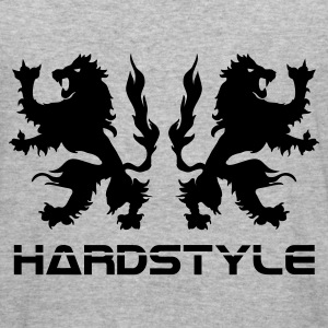 Army Double griffin/lion hardstyle Coats & Jackets - Men's Slim Fit T-Shirt