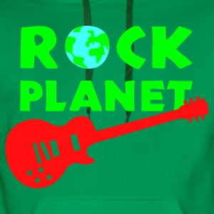 rock_planet Tabliers - Sweat-shirt à capuche Premium pour hommes