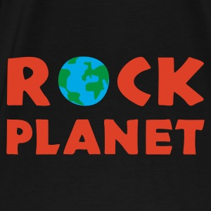rock_planet_2 Sacs - T-shirt Premium Homme