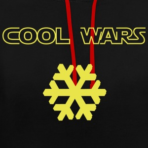 Cool_Wars - Contrast Colour Hoodie