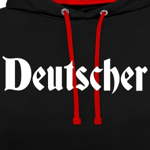 allemand - Sweat-shirt contraste