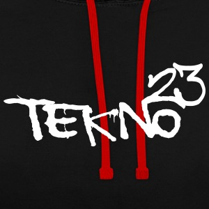 tekno 23 - Sweat-shirt contraste