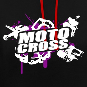 Motocross Supermoto Enduro Vol.I p / p - Sweat-shirt contraste
